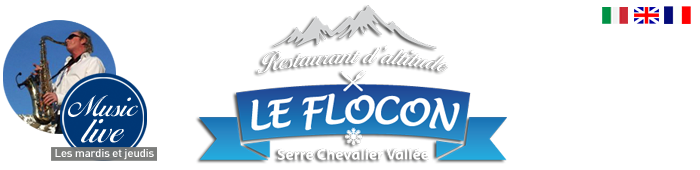Restaurant d'altitude le flocon serre chevalier